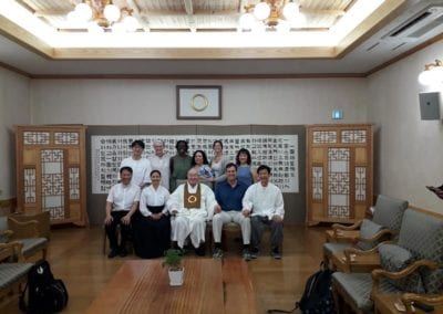 Won Institute 2018 Korea Trip
